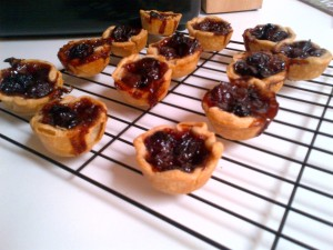 Black Grape Tartlets