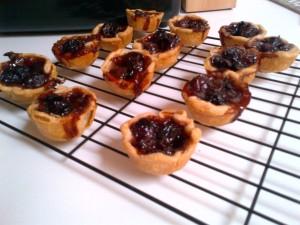 Black Grape Tartlets