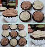 Guinness Chocolate Cupcakes collage